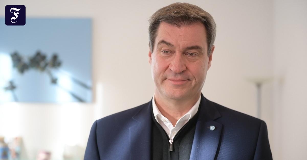 """Markus Söder im Gespräch: """"Wir sind auf dem Weg in eine blockierte Republik"""""""