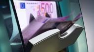 Würde der 500-Euro-Schein abgeschafft, würde es teuer werden.