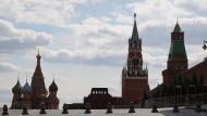Die Basilikuskathedrale auf dem Roten Platz in Moskau