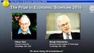 Die Preisträger 2016: Oliver Hart und Bengt Holmström