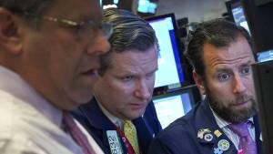 An der Wall Street liegen die Nerven blank