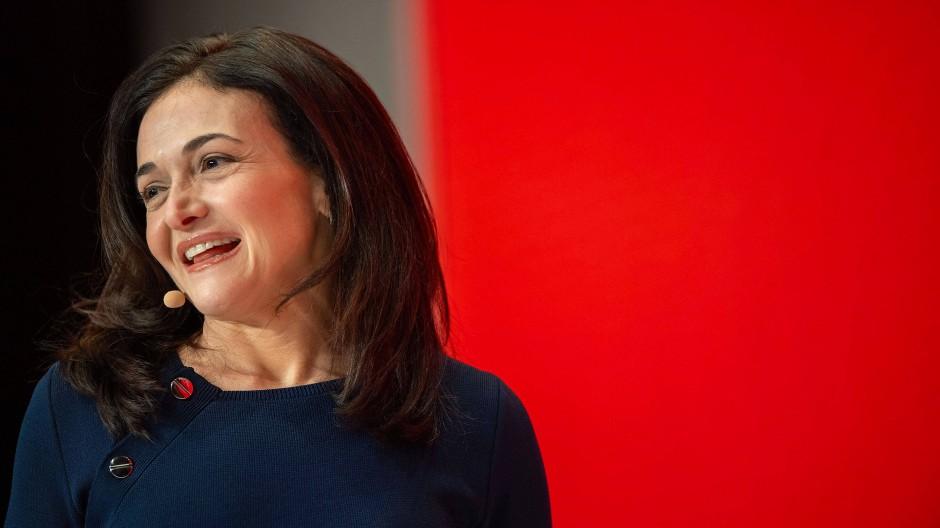 Sheryl Sandberg während ihres Auftritts auf der DLD-Konferenz im vergangenen Jahr in München