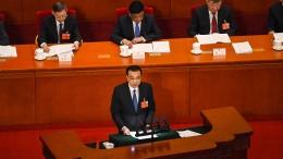 China will die Wirtschaft mit Milliardenausgaben ankurbeln
