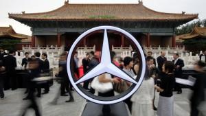 Macht China Stimmung gegen deutsche Autobauer?