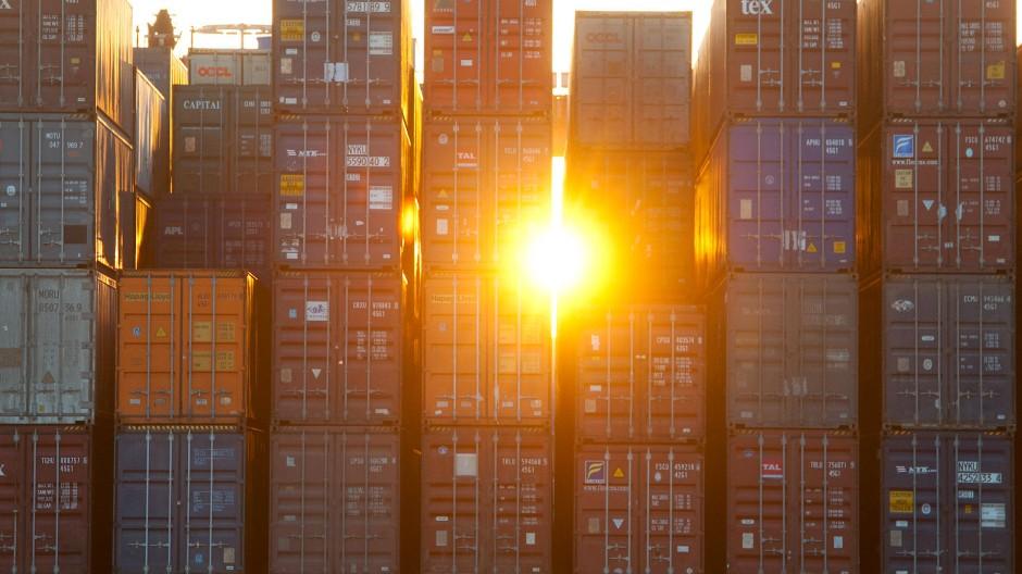 Der deutsche Export boomt.