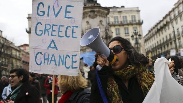 """Schäuble: """"Mir tun die Griechen leid"""""""