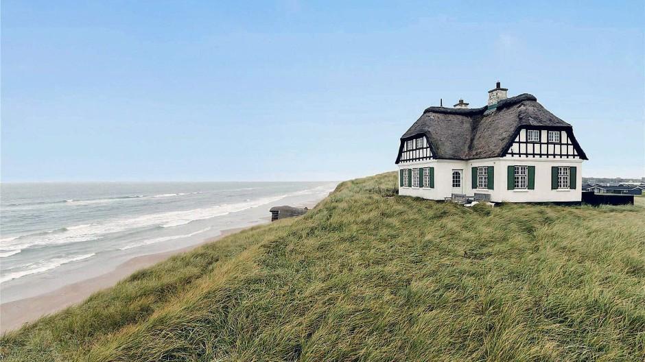 Das Finanzamt will seinen Anteil: Haus mit Nordseeblick