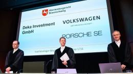 Anlegerprozess gegen VW verzögert sich bis November
