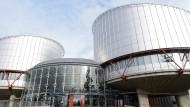 Der Sitz des Europäische Gerichtshofs für Menschenrechte in Straßburg