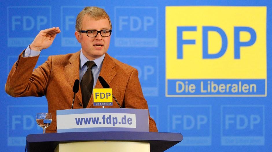 Kopf der FDP-Rebellen: Frank Schäffler