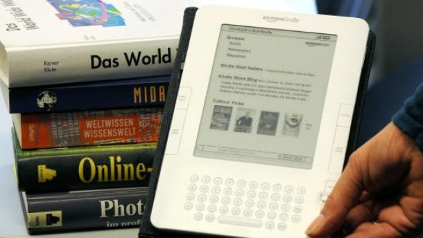 Amazon verkauft immer mehr digitale Bücher
