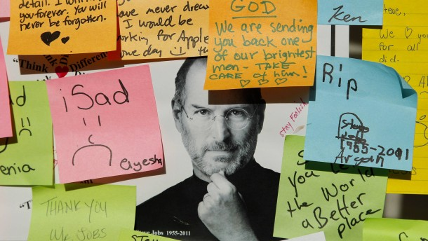 Steve Jobs auf allen Kanälen