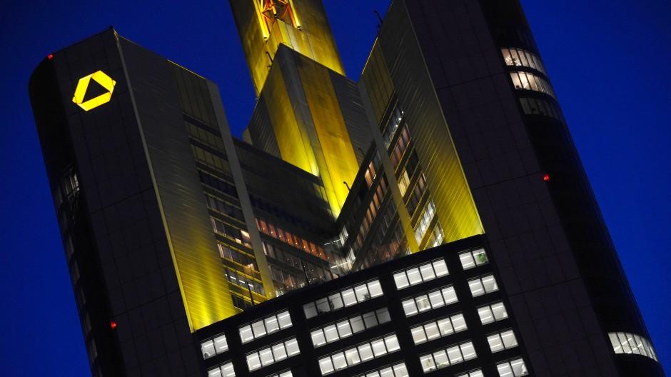 Die Zentrale der Commerzbank