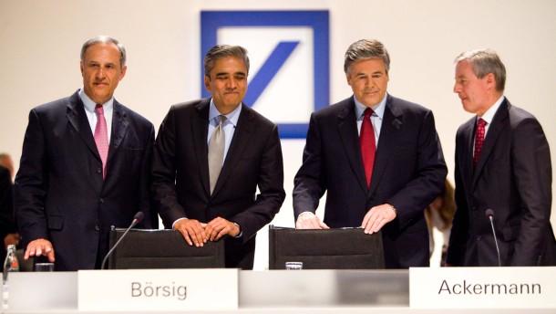 Deutsche Bank vollzieht den Übergang