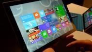 Tablet-Markt kurz vor Stillstand