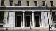 Griechenlands Notenbank warnt vor Euro-Aus