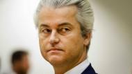 """Nicht nur er polarisiert: Geert Wilders, der Vorsitzende der """"Partei für die Freiheit"""""""