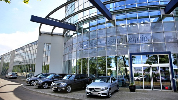 Chinesen werden größter Mercedes-Händler in Deutschland