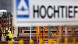 Baukonzern Hochtief flirtet mit Trumps Mauerplänen