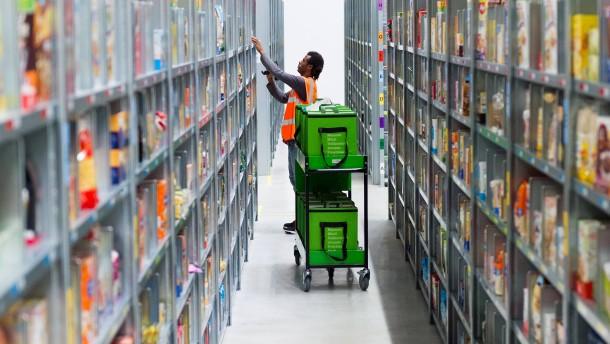 """Amazon stellt Lieferdienst """"Fresh"""" teilweise ein"""
