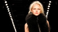 Schick, schick: Ein Model des Escada-Sport-Labels in Berlin