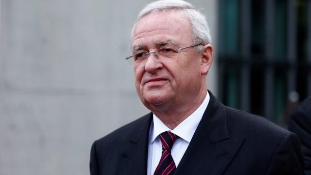Anklage gegen Ex-VW-Chef Winterkorn wegen Falschaussage