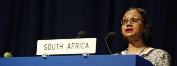 Südafrikas Energieministerin Tina Joemat-Pettersson