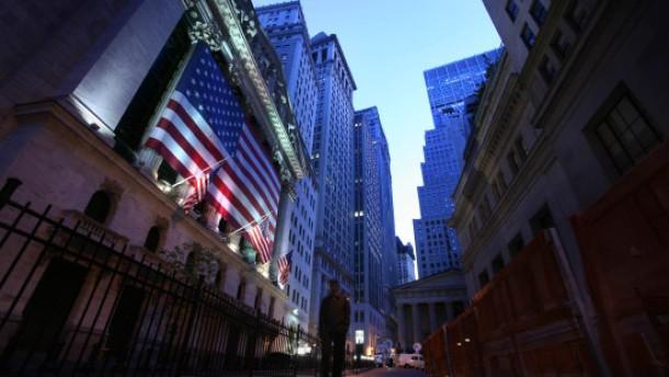 Rezessionsängste lasten auf den Aktienkursen