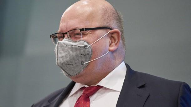 Minister Altmaier erhöht Wachstumsprognose