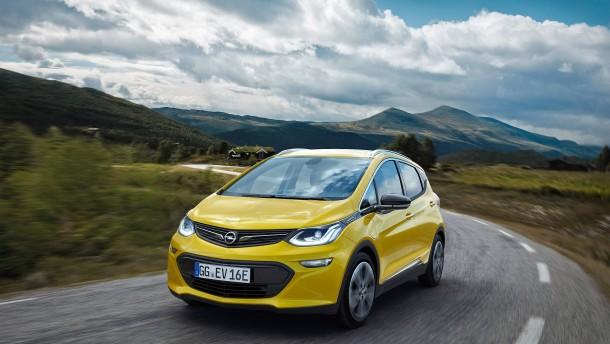 400 Kilometer Reichweite für den neuen Elektro-Opel