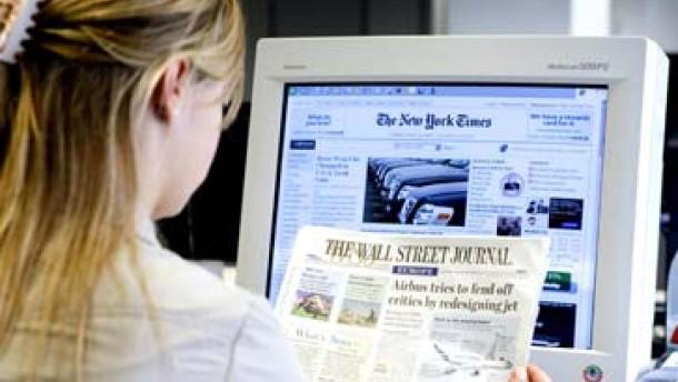 Amerikas Zeitungen suchen die zündende Geschäftsidee