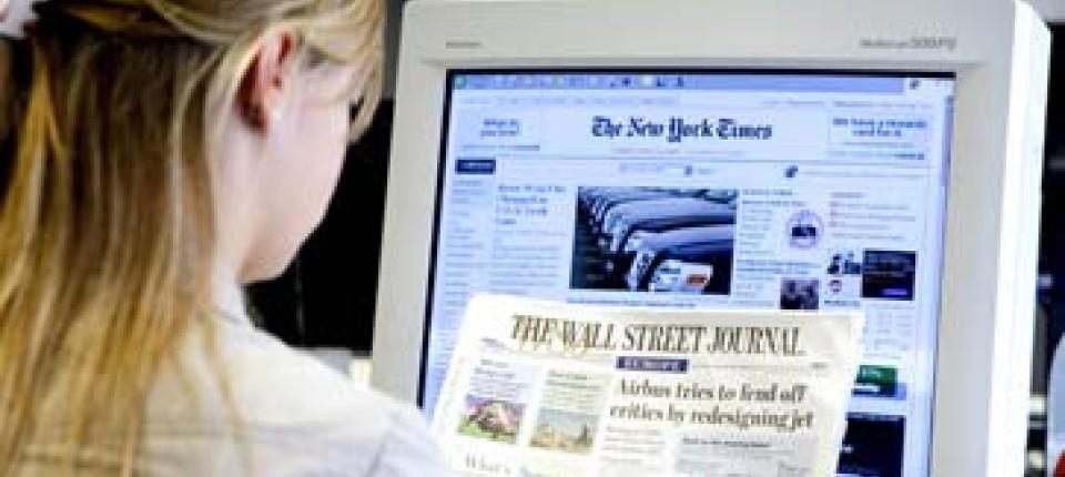 Medien: Amerikas Zeitungen suchen die zündende Geschäftsidee ...
