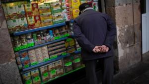 Spaniens Wirtschaft verharrt in der Rezession