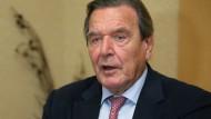 """""""Chinesische Investoren bringen wenigstens einen Markt mit"""", sagt Gerhard Schröder."""
