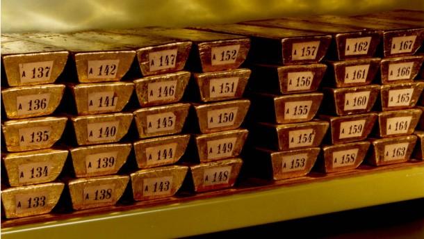 Bundesbank holt 150 Tonnen Gold aus dem Ausland zurück
