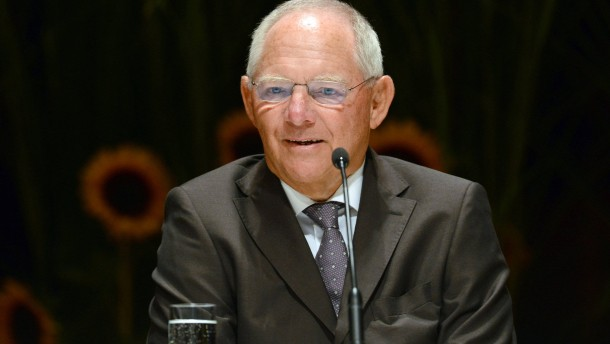 Schäuble: Gesamtrisiko beträgt 310 Milliarden Euro