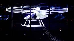 Flugtaxi-Start-up bekommt frisches Geld aus China