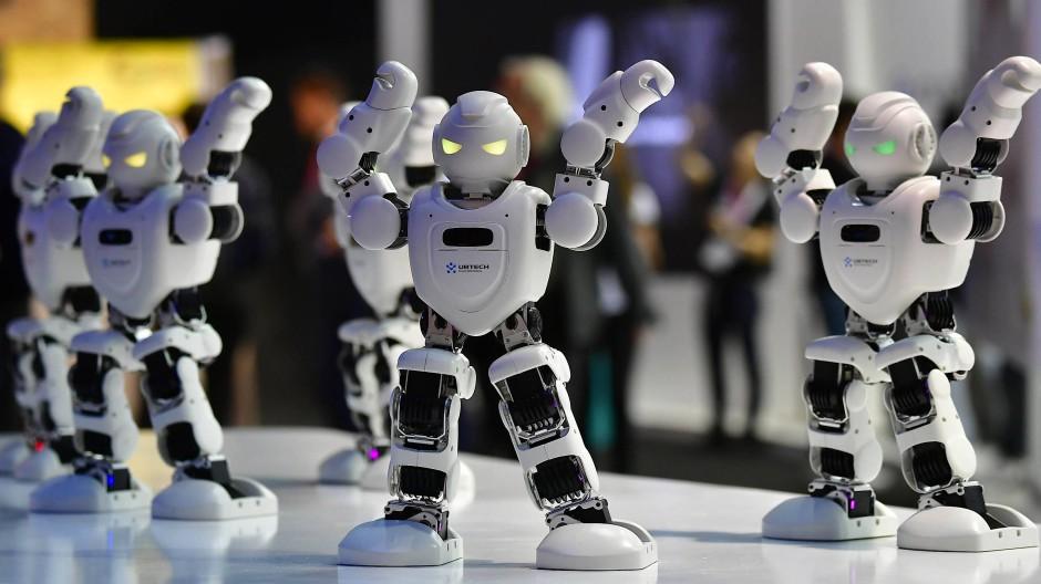 Roboter Alpha 1E: Auf der Elektronikmesse IFA in Berlin zeigen gerade Aussteller aus der ganzen Welt, was sie können.