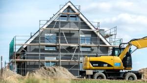 Wohl kein Baukindergeld für große Immobilien