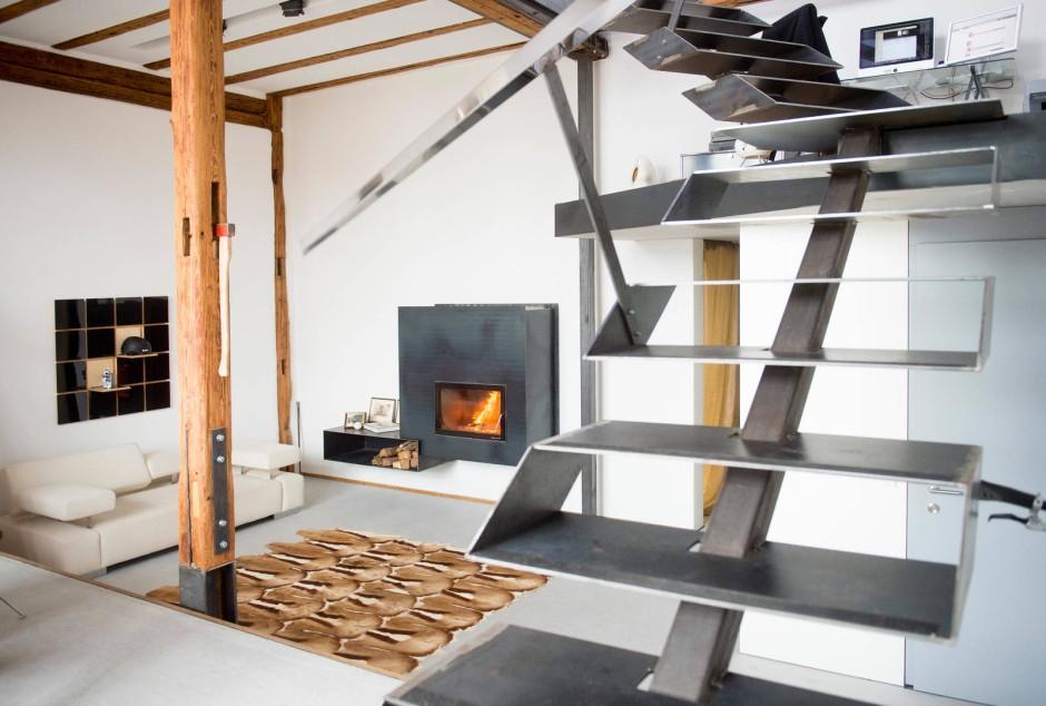 bilderstrecke zu von der scheune zum wohnhaus bild 6. Black Bedroom Furniture Sets. Home Design Ideas