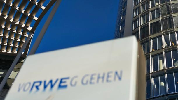 Energiekonzern RWE meldet Gewinneinbruch