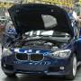 So sieht es aus, wenn der 1er BMW gefertigt wird.
