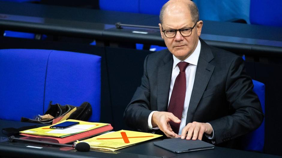 Finanzminister Olaf Scholz: Seine Partei lehnt weitere Entlastungen ab.