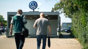 In Wolfsburg stehen die Bänder still