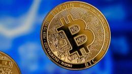 Bitcoin fällt bis auf 45.000 Dollar