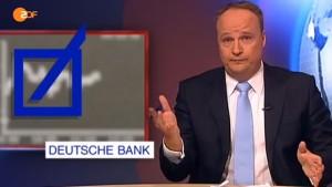 Häme für die Deutsche Bank
