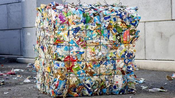 Das Müllaufkommen steigt in der Krise