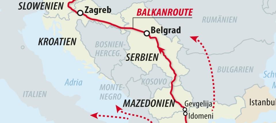Balkanroute Aktuell