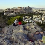 Gut zu sehen: Die Akropolis steht nicht in London
