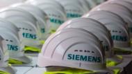 Anleihenanleger zahlen drauf,  damit Siemens ihr Vermögen beschützt.